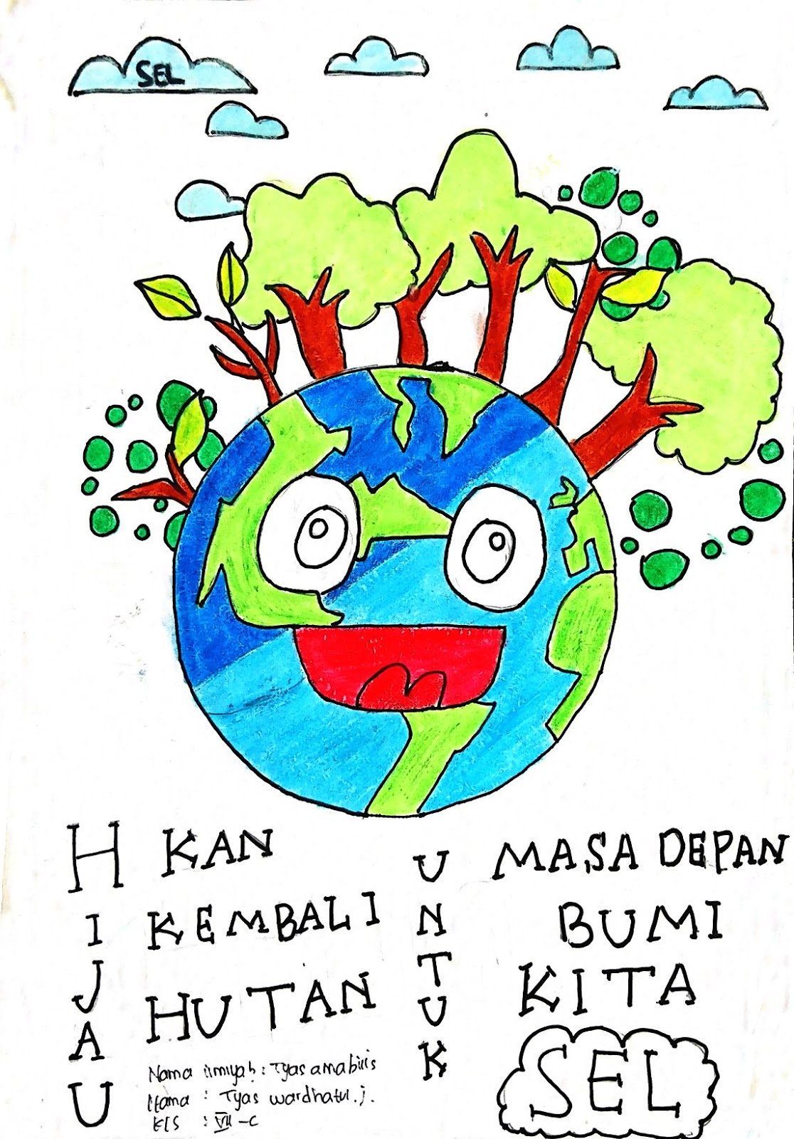 Goresan Warna Tentang Bumi Kita