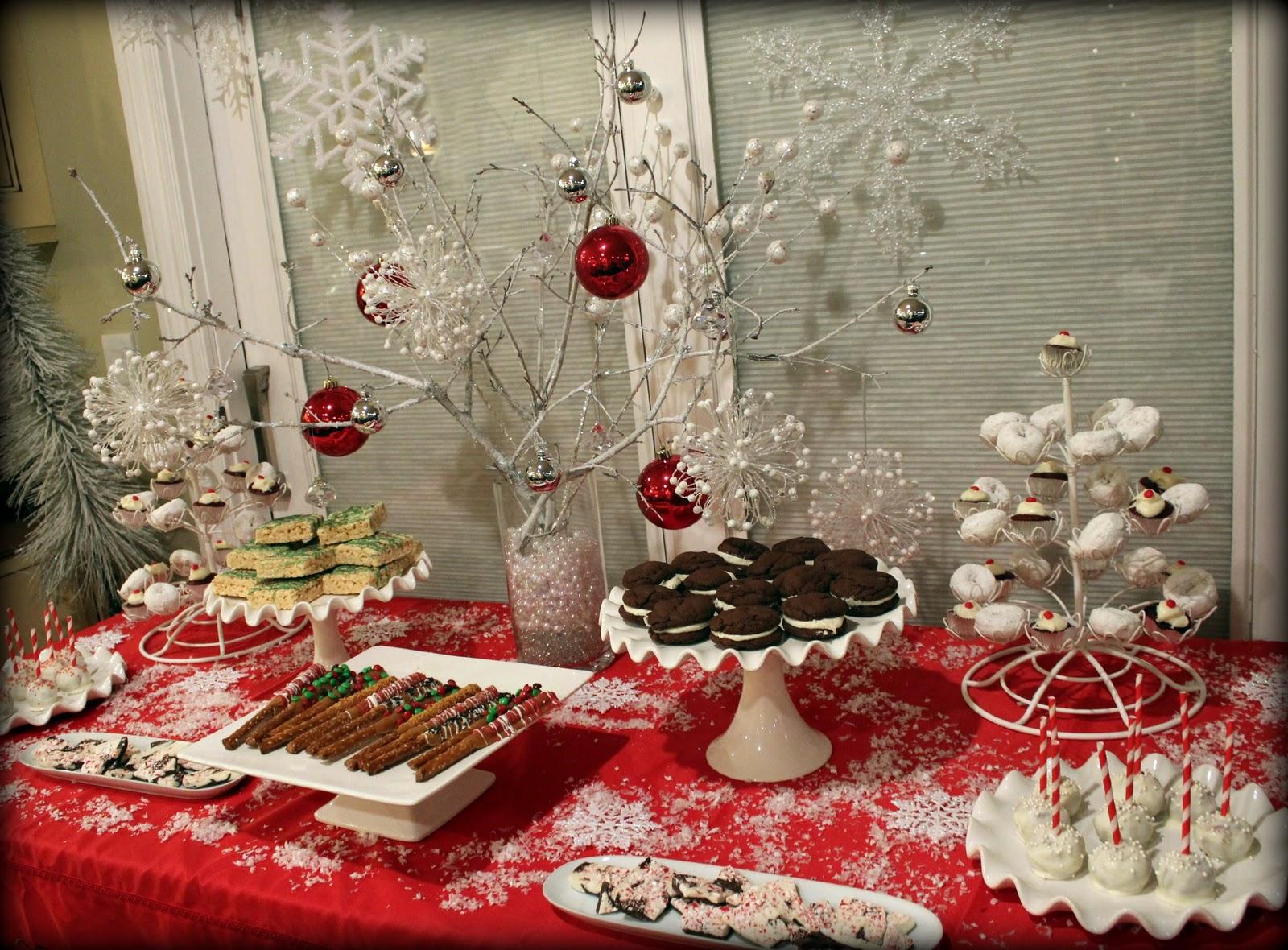 bridgey widgey winter dessert table. Black Bedroom Furniture Sets. Home Design Ideas