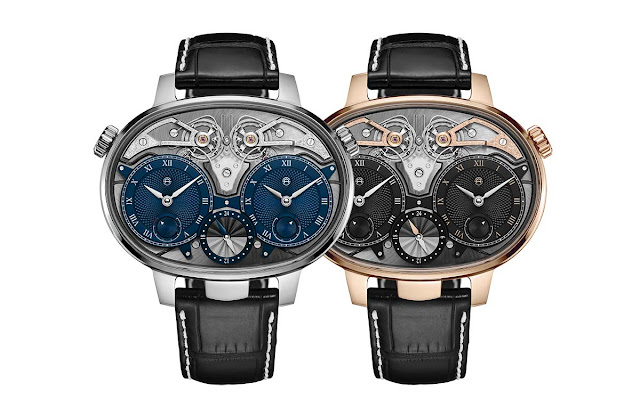 Armin Strom Dual Time Resonance in White Gold and Rose Gold