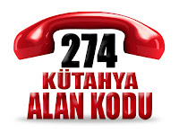 0274 Kütahya telefon alan kodu