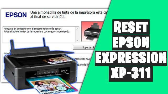Cómo resetear impresora EPSON Expression XP-311