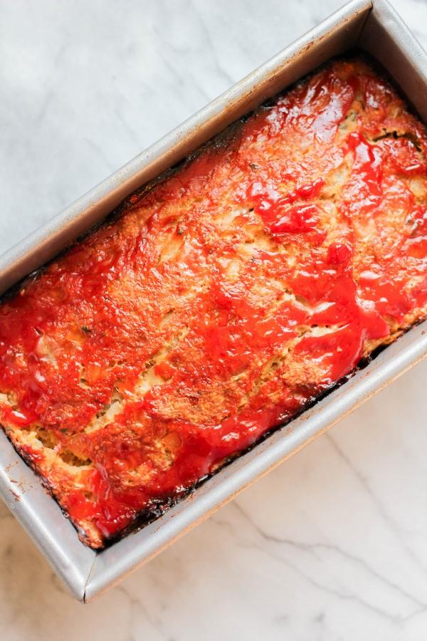 This is the Best Turkey Meatloaf I've ever had! It's moist and flavorful and is the perfect comfort food.