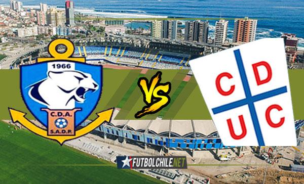Deportes Antofagasta vs Universidad Católica - 12:30 h - Campeonato Transición - 10/12/17
