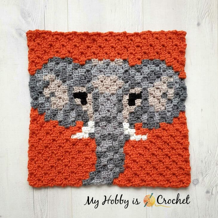 Ravelry: Elephant in Costume Amigurumi pattern by J.A. Poolvos | 730x730
