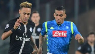 Napoli vs PSG 1-1 Video Gol & Match Highlights