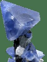 cristal de benitoita - minerales y piedras preciosas - foro de minerales