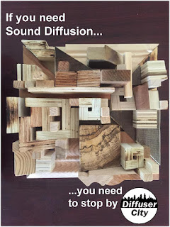 Everything sounds better with diffusers!