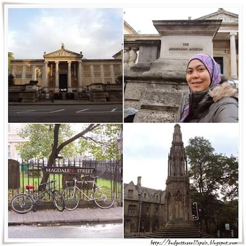 Walking around Oxford: Part 1