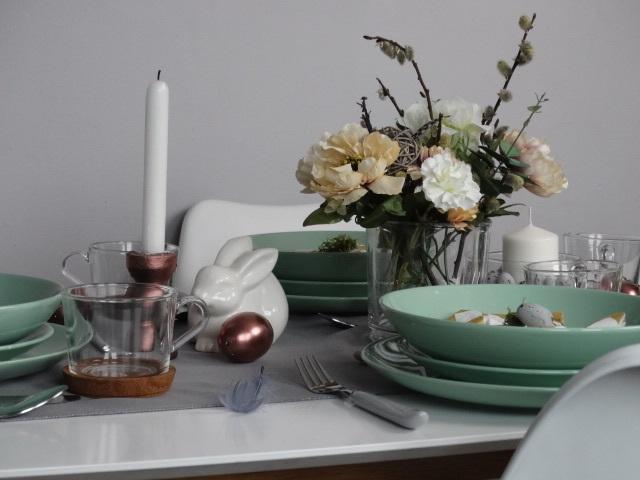 easter, wielkanoc, aranżacja stołu, dekoracje stołu, wielkanocne dekoracje
