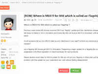 MIUI 9 Global Stable Belum Sambangi Mi 6, Pengguna Kecewa