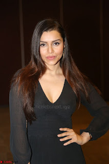 Kyra Dutta in black At Rogue Movie Audio Launch ~  062.JPG