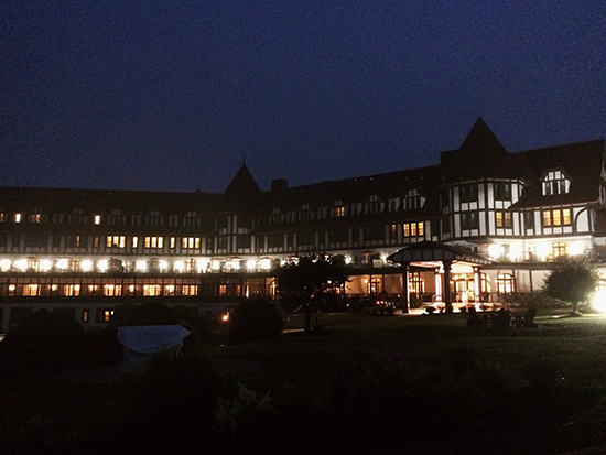 Honeymoon at The Algonquin, St. Andrews NB