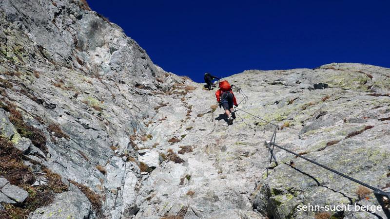 Klettersteig Ifinger : Sehn sucht berge heini holzer klettersteig ifingerspitzen