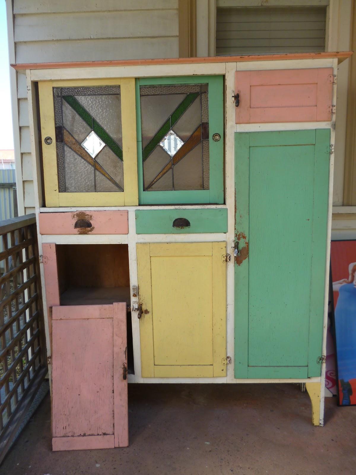 Vintage Deco Kitchen Dresser Birregurra Garage Sale