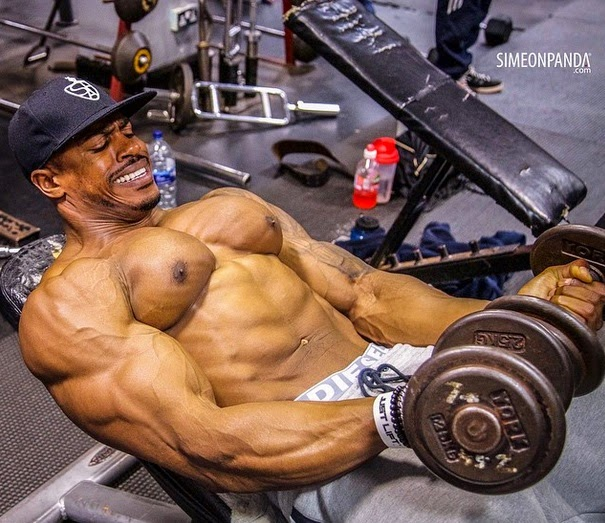 Simeon Panda workout routine and diet plan