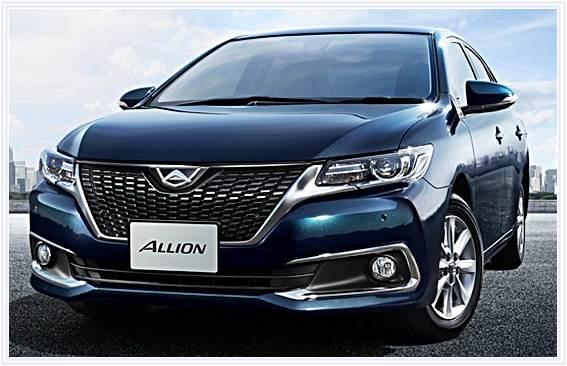 2017 Toyota Allion Review