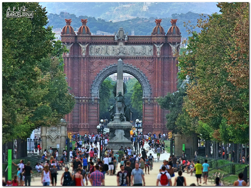 barcelona organizaba en el ao la exposicin universal y como puerta de entrada monumental el arquitecto josep vilaseca levant este excepcional