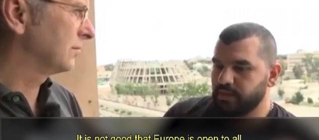 Σύρος χριστιανός πρώην πρόσφυγας ΑΠΟΚΑΛΥΠΤΕΙ: «Δεν ξέρετε ποιους βάλατε μέσα με τα ανοικτά σύνορα»! (βίντεο)