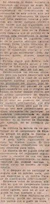 Artículo de prensa de Josep Roca García sobre Ángel Ribera en 1958