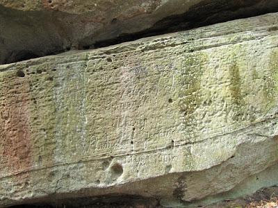 Napisy na Górnej Warowni