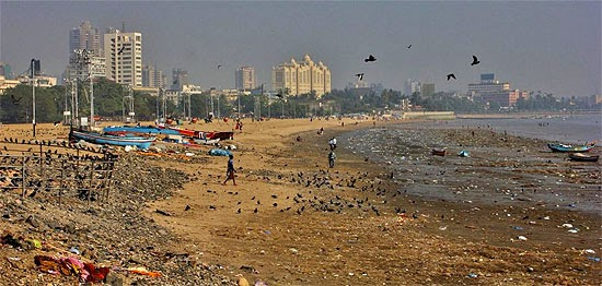 Chow Patty Beach - Mumbai, Índia