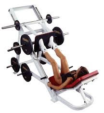 Ejercicio de prensa para trabajar cuadríceps y glúteos