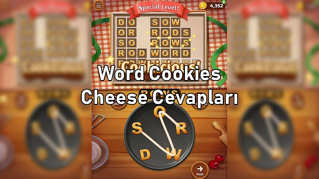 Word Cookies Cheese Cevaplar