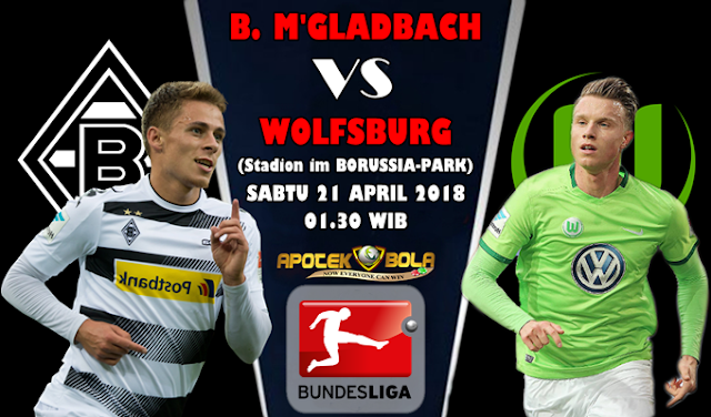 Prediksi Borussia Moenchengladbach vs Wolfsburg 21 April 2018