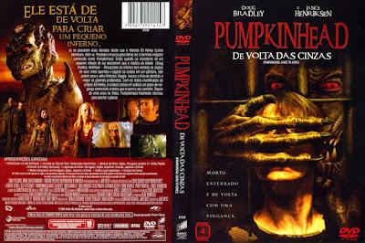 Filme Pumpkinhead 3 - De Volta as Cinzas (Pumpkinhead 3: Ashes To Ashes) DVD Capa