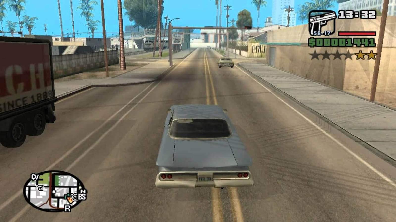 تحميل لعبة GTA San Andreas مضغوطة برابط واحد مباشر كاملة مجانا