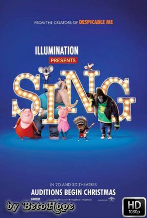 Sing: ¡Ven y Canta! [1080p] [Latino-Ingles] [MEGA]