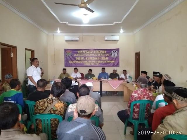 Dianggap Tidak Demokrasi Pemilihan BPD Desa Kayu Agung Akan Diulang