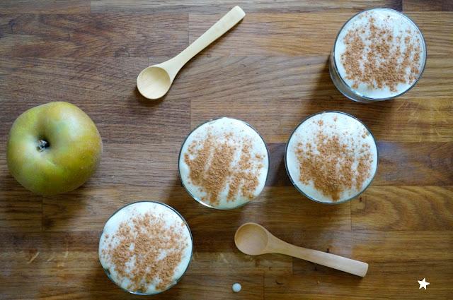 tiramisu pommes vegan dessert