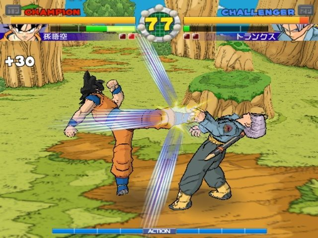Super Dragon Ball Z PS2 GAME ISO Gameplay