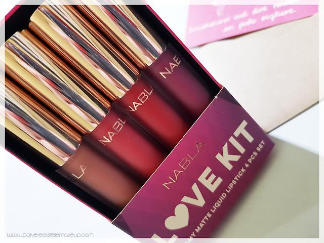 Nabla Love Kit tonalità