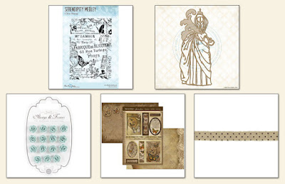 Scraps of Elegance February Garden Gala Kit Elements Add On