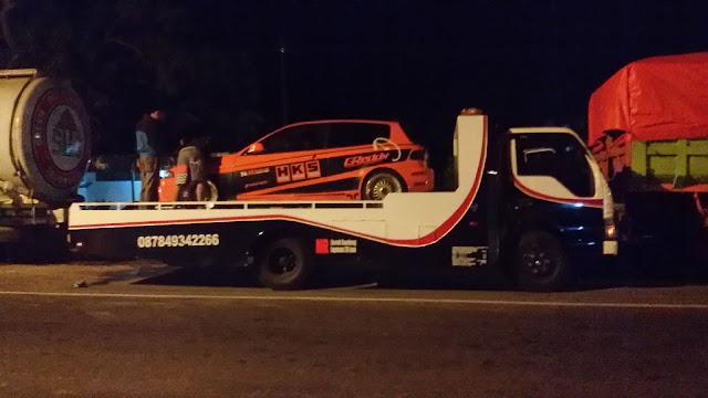 Layanan Jasa angkut mobil balap atau mobil kontes