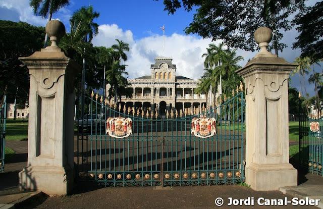 'Iolani Palace en Honolulu
