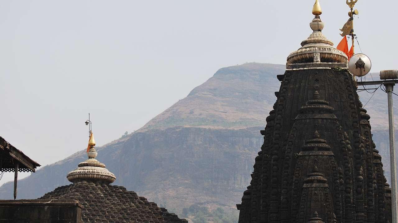 त्रंबकेश्वर मंदिर - ब्रम्हगिरी पर्वत
