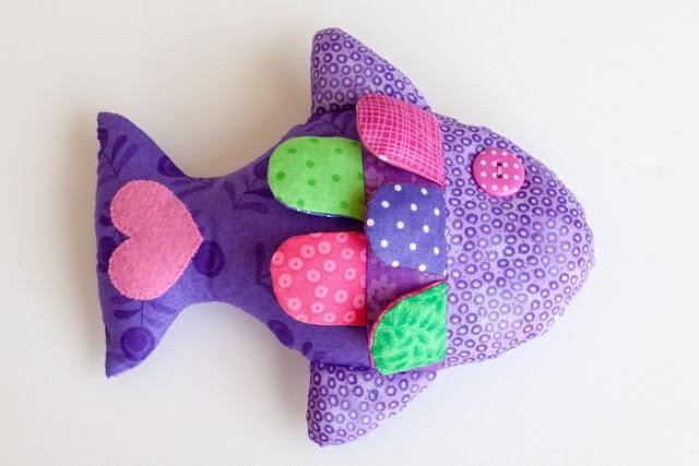 текстильная рыбка своими руками