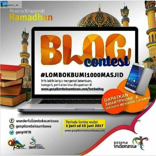 Indahnya Ramadan 1438 H dengan Pesona 1000 Masjid Lombok