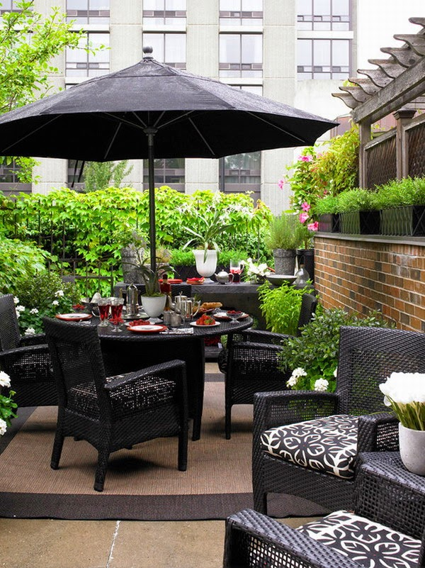 Home Design Ideas: Wicker Patio Furniture Enhance The ... on Rk Outdoor Living id=67571