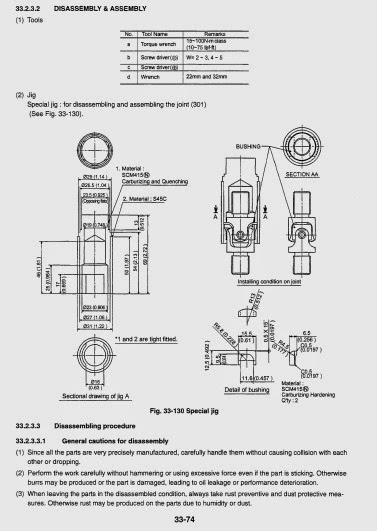 Free Automotive Manuals: Kobelco SK80MSR-1E(S) Hydraulic