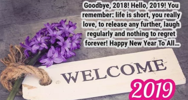 goodbye welcome new year images wishes quotes greetings