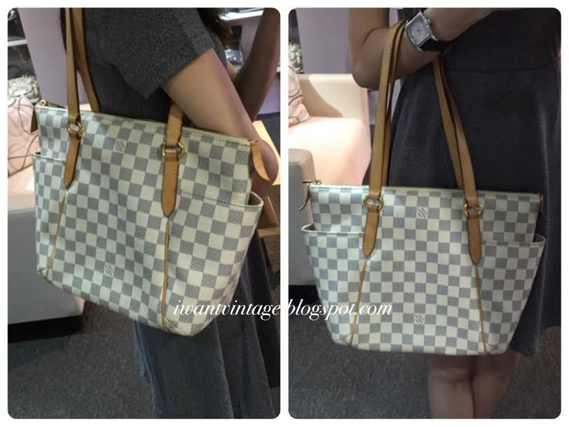 8e7bb3360f00 Louis Vuitton Totally PM (Damier Azur)