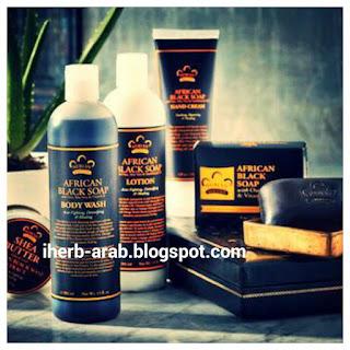 منتجات الصابونة الافريقية السوداء من اي هيرب