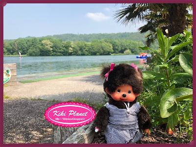 kiki monchhichi toys vintage normandie lac de caniel,base de loisirs