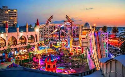 Luna Park Tempat menarik di melbourne australia untuk bercuti