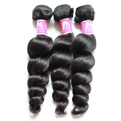 8A Premium Hair Weave Peruvian Hair Bundles Loose Wave–Price:$34.34 /piece (10%off)     loose wave hair