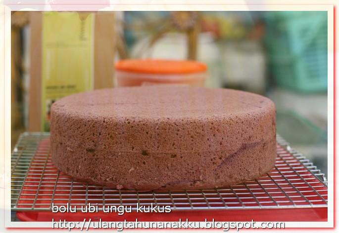 Resep Cake Kukus Ubi Ungu: It All Started With His Birthday: BOLU UBI UNGU KUKUS